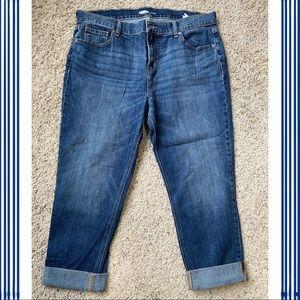 Old Navy Boyfriend Jeans Capri